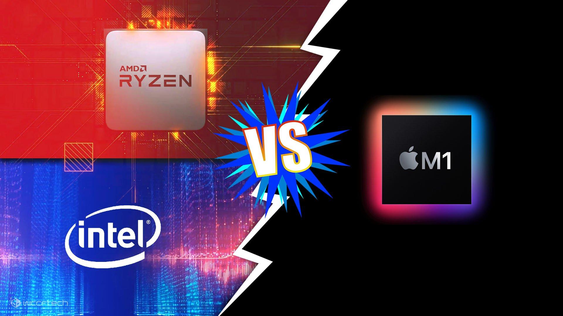 Đế chế laptop của Intel đang bị đe dọa bởi AMD Ryzen và Apple Silicon