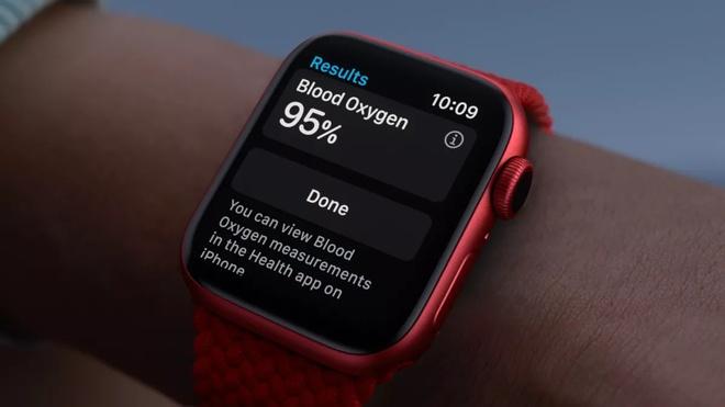 Tính năng Blood Oxygen trên Apple Watch Series 6 đã hỗ trợ tại Việt Nam